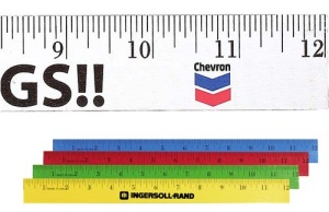 Personalized 12-inch Enamel Wood Ruler
