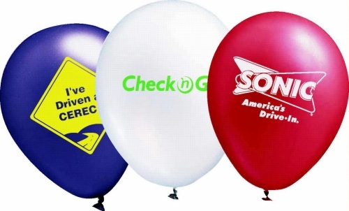 Assortment of Metallic Color Balloons