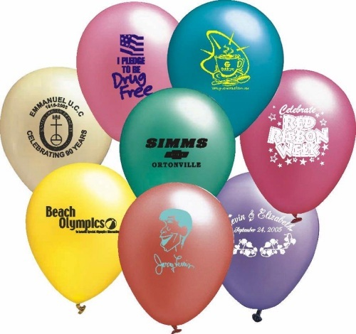 Assortment of Pearl Color Balloons