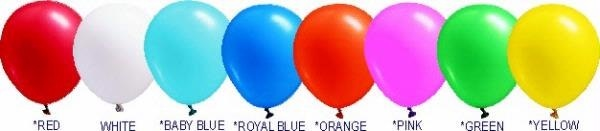 Standard Color Balloons