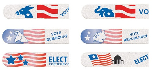 Customized Political Emery Boards