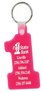 Wholesale Number One Key Fob