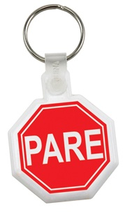 Customized Stop Sign Key Fob