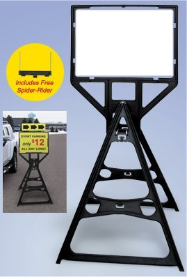 Tall Plastic Sign Frame