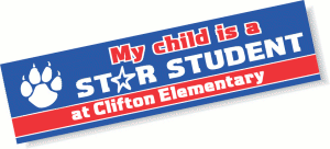 School Bumper Sticker