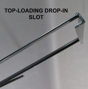Detail of Top-Loading Drop-In Slot for H Frames